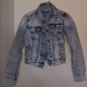 Distressed Bethany Mota Denim Jacket